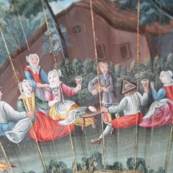 Merenda sul prato - fiammingo XIV secolo