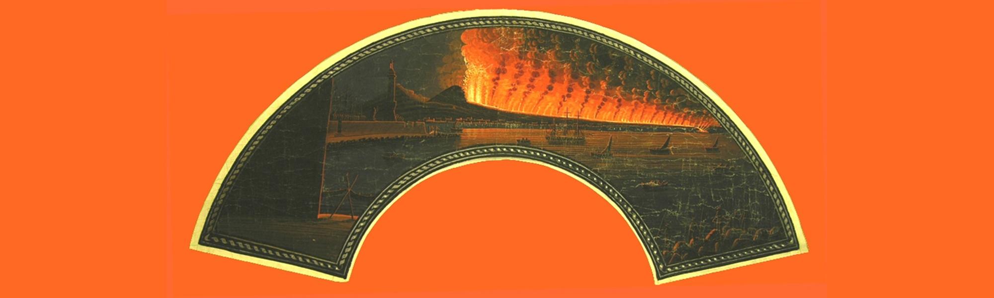 Napoli-eruzione 1792-Faro la lanterna