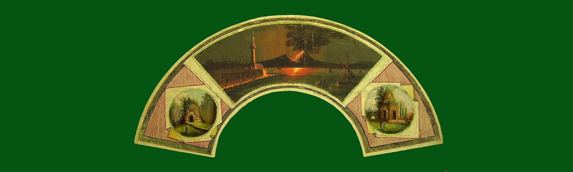 Napoli Eruzione 1779-Sepolcro di Gaeta
